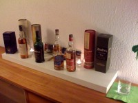 1. offizielle Sitzung - Whisky Display